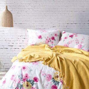 купить Постельное белье с Пике Diva Dreams 06 Желтый фото