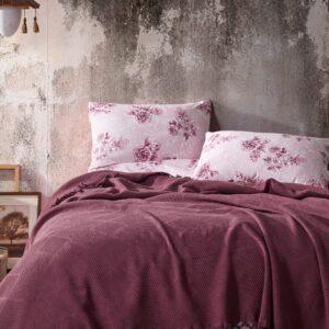 купить Постельное белье с Пике Diva Dreams 07 Розовый фото