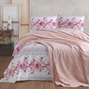 купить Постельное белье с Пике Diva Dreams 12 Розовый фото