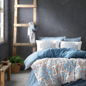 купить Постельное белье Cotton box Bohem Grande Синий фото