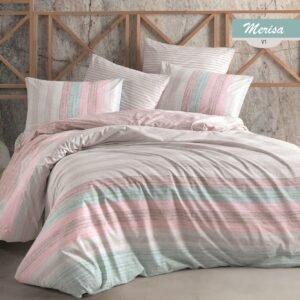 купить Постельное белье Majoli Merisa v1 Розовый фото