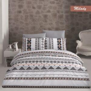купить Постельное белье Majoli Milady Коричневый фото