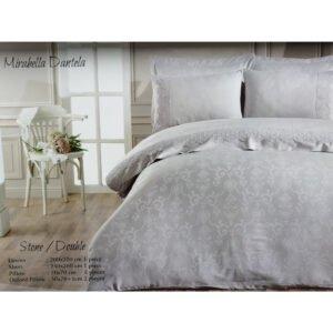 купить Постельное белье Maison Dor - MIRABELLA DANTELA STONE Серый фото