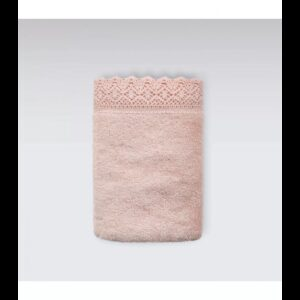 купить Набор полотенец Irya - Lacy Kopanakili pudra (3 шт) Розовый фото