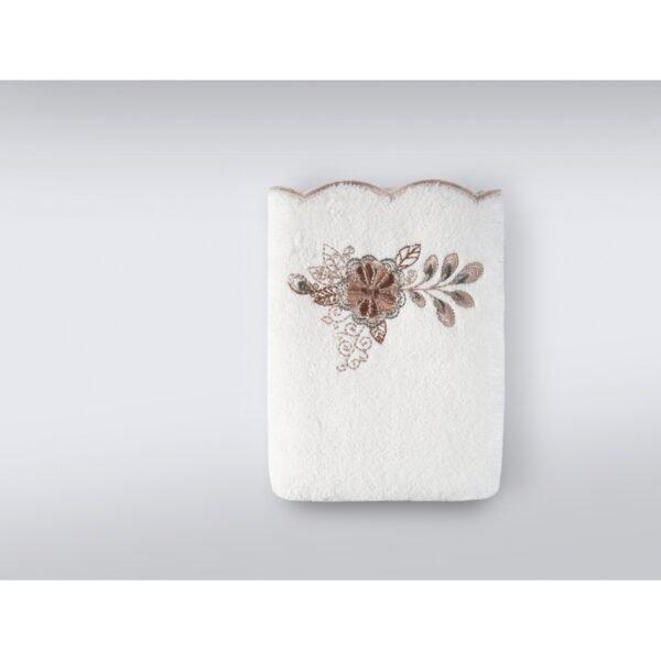 купить Набор полотенец Irya - Laural ekru (3 шт) Кремовый фото