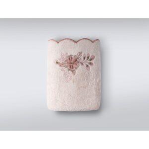 купить Набор полотенец Irya - Laural pudra (3 шт) Розовый фото