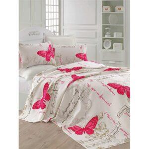 купить Покрывало пике Eponj Home - Cocona a.krem Розовый фото