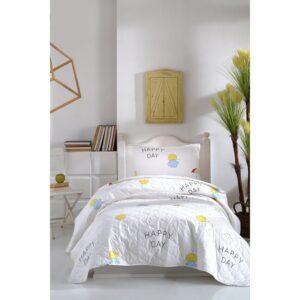 купить Покрывало стеганое с наволочками Enlora Home - Ilanda Beyaz Белый фото