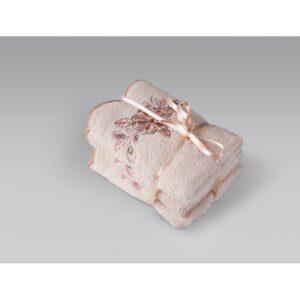 купить Полотенце Irya - Laural pudra Розовый фото