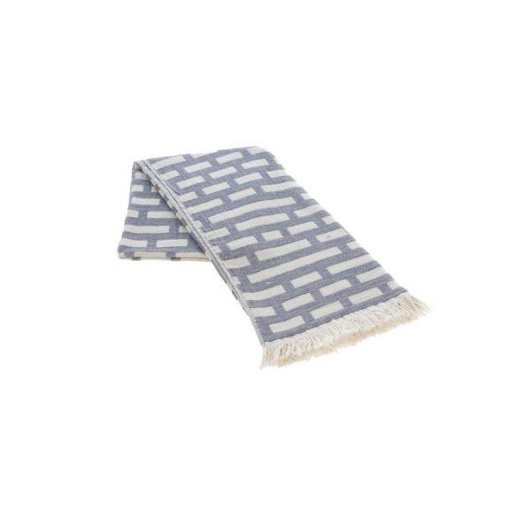 купить Полотенце жаккардовое Buldans - Palmira purple grey Серый фото