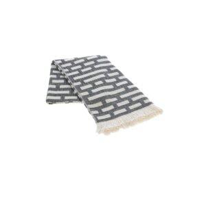 купить Полотенце жаккардовое Buldans - Palmira siyah Серый фото