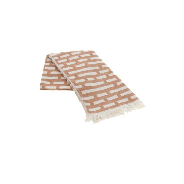 купить Полотенце жаккардовое Buldans - Palmira tobacco Коричневый фото