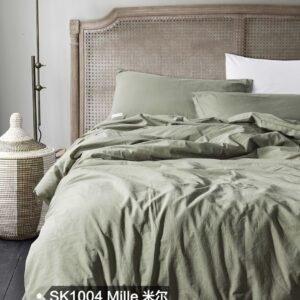 купить Постельное белье Bella Villa вареный хлопок W-0010 Евро комплект