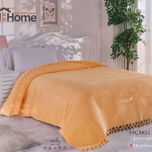 купить Покрывало-плед LightHouse Checkers Оранжевый Оранжевый фото