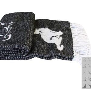 купить Плед CATS Черный Черный фото