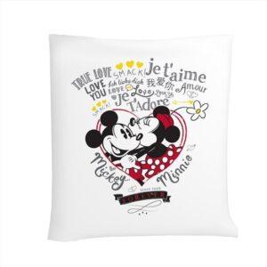 купить Покрывало-пике TAC Disney Minnie & Mickey Amour Серый фото