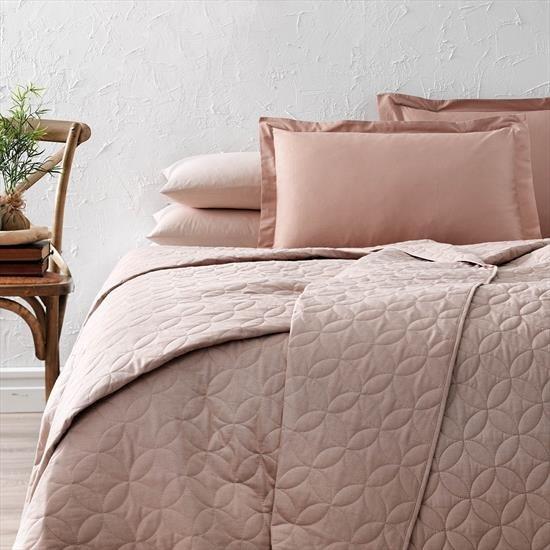 купить Покрывало TAC Ortusu Basic Camel Розовый фото