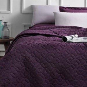 купить Покрывало TAC Ortusu Basic фиолетовый Фиолетовый фото