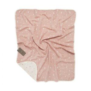 купить Детский плед-пике Buldans - Ivy brick Розовый фото
