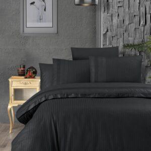 купить Постельное белье First choice de luxe ranforce gala black Черный фото