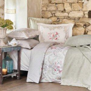 купить Постельное белье с покрывалом и пледом Karaca Home - Petra pembe Розовый фото