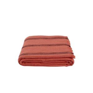 купить Плед-накидка Buldans - Yuma brick Оранжевый фото