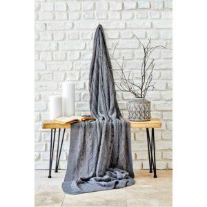 купить Плед вязанный Karaca Home - Sofa gri Серый фото