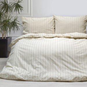 купить Постельное белье Barine Washed cotton - Sunday beige Бежевый фото