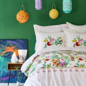 купить Постельное белье Karaca Home - Irini fusya 2019-2 Розовый фото