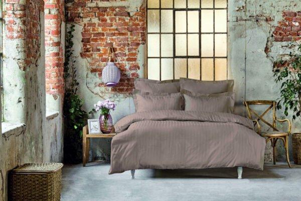 купить Постельное белье Karaca Home сатин - Charm bold a.murdum Коричневый фото