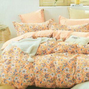 купить Постельное белье La Scala сатин Y230-953 Оранжевый фото