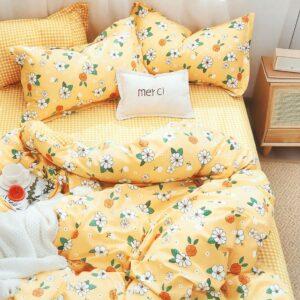 купить Постельное белье La Scala сатин Y230-951 Желтый фото