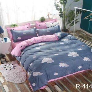 купить Постельное белье TAG R4145 Синий фото