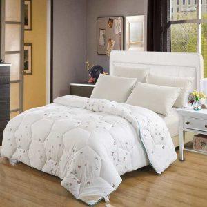 купить Одеяло бамбук с лавандой Белый Белый фото 2