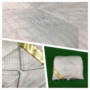 купить Одеяло бамбук Prestij Дубль grey Серый фото 2