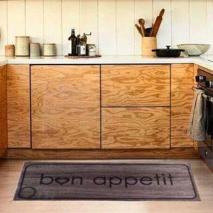 купить Коврик для кухни COOKY BON APETIT Коричневый фото 2