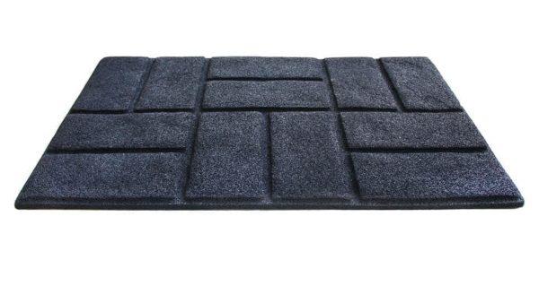 купить Коврик придверный Torn Brick Черный Черный фото 2