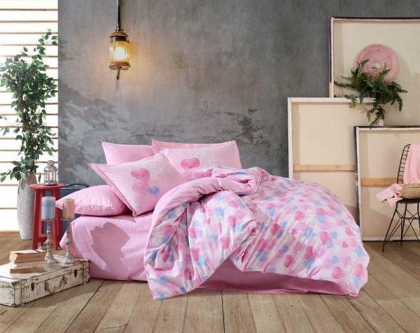купить Постельное белье HOBBY Poplin Lavida Розовый фото