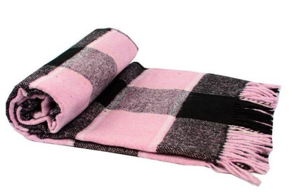 купить Плед Vladi Palermo Розовый Розовый фото