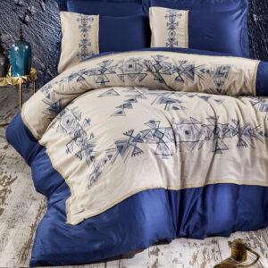 купить Постельное белье Marie Lou Natur Jenni Синий фото