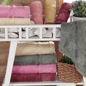 купить Набор махровых полотенец Sikel Bamboo Sultan 6 шт  фото