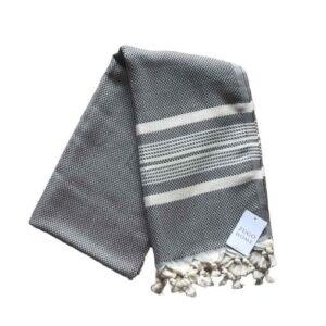 купить Пляжное полотенце Zugo Home Ilgin Lux 100x180 Серый фото