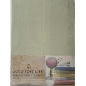 купить Простынь трикотажная на резинке Gold Soft Life Terry Fitted Sheet минт Ментоловый фото