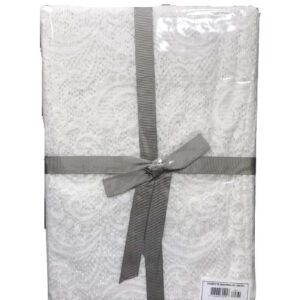 купить Скатерть TAC Jakar Masa 122040V12118 180x230 Белый фото