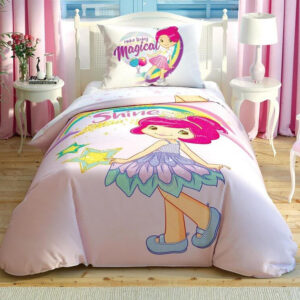 купить Постельное белье TAC Disney S. Shortcake Shine подростковое Розовый фото