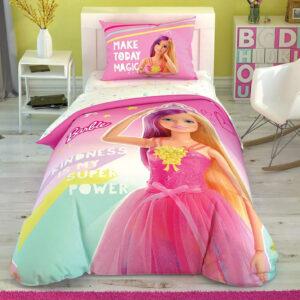 купить Постельное белье TAC Disney Barbie Kindnes подростковое Розовый фото