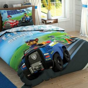 купить Постельное белье TAC Disney Paw Petrol Team подростковое Синий фото