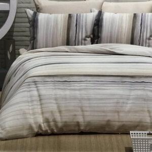 купить Постельное белье Zugo Home ранфорс Gradient V4 Бежевый фото
