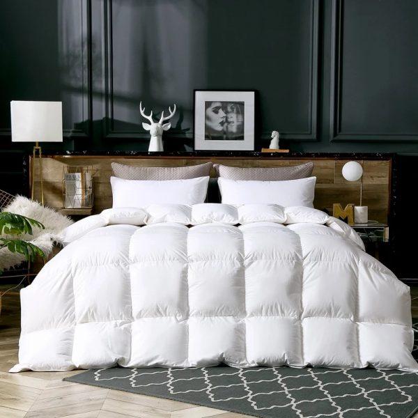купить Одеяло Maison Dor Пух Белый фото 2