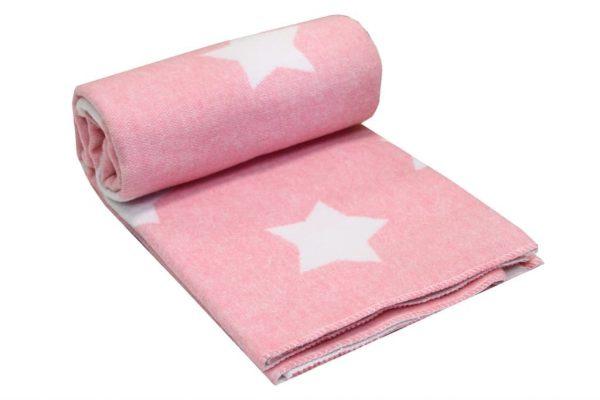 купить Детское одеяло-плед LIGHTHOUSE Звезды Розовый фото 2